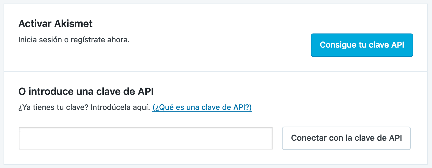 Descargar WordPress y configurar Askimet