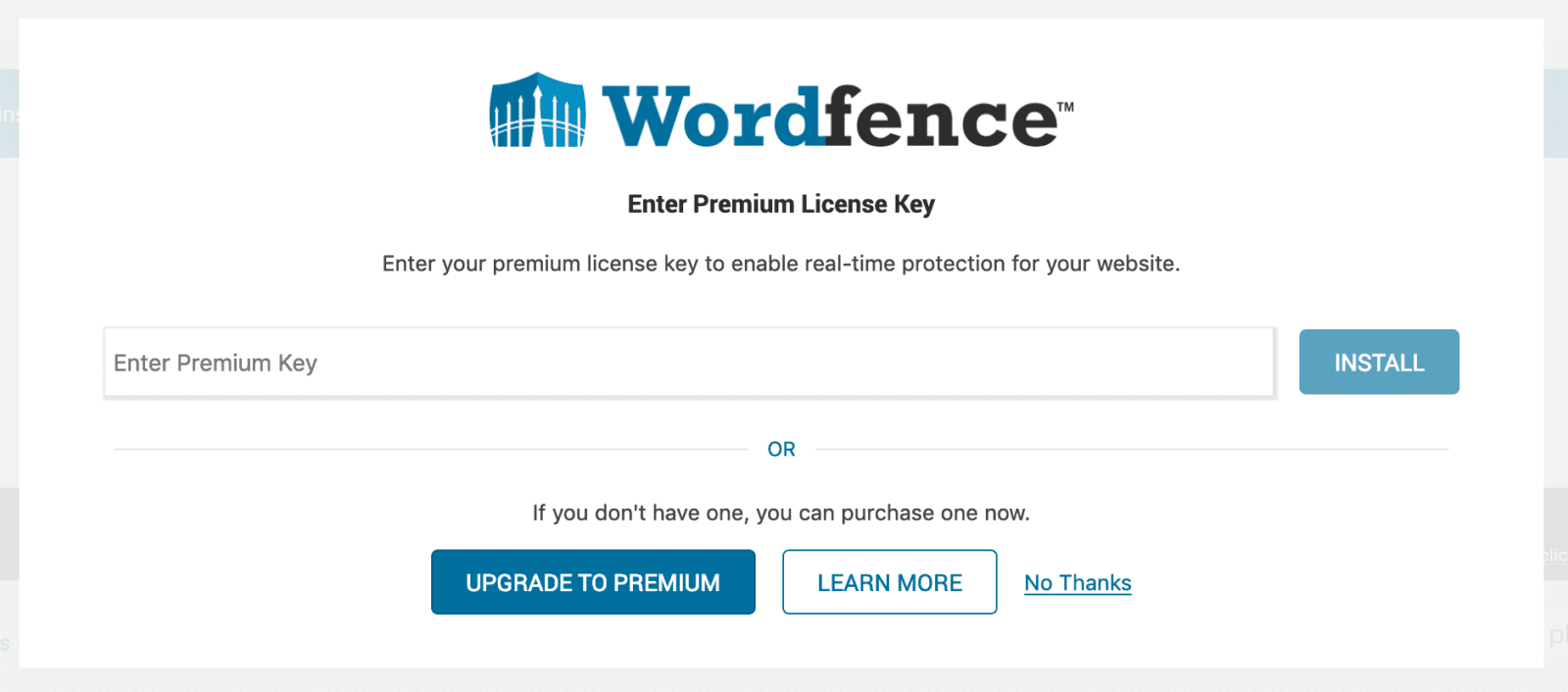 Descargar WordPress y configurar wordfence